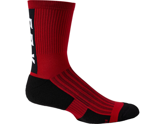 "Fox 6"" Ranger Cushion Socks Men, chili"